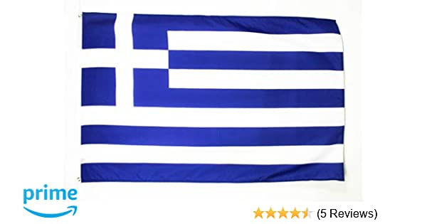 Griechenland  Fahne 150 x 90 cm Flagge mit Metallösen Flaggen WM Fanartikel NEU