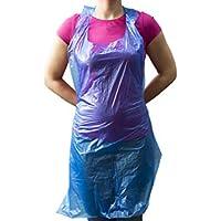 "Abiliy Superstore - ""Value"" Plastikschürzen, 500 Stück, blau"