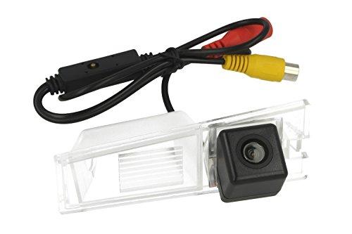 Telecamera Posteriore Per Luce Targa Specifica Cadillac CTS Linea Guida Effetto Specchio Selezionabile