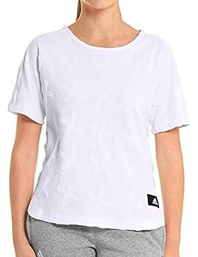 adidas Mädchen Yg Id Boxy Tee Shirt