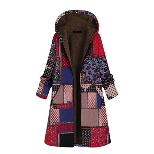 Manteau à Capuche en Laine Chaud éPais Hiver Vestes Hooded Zippé Polaire Oversize Cardigans Casual Couleur Unie Outercoat
