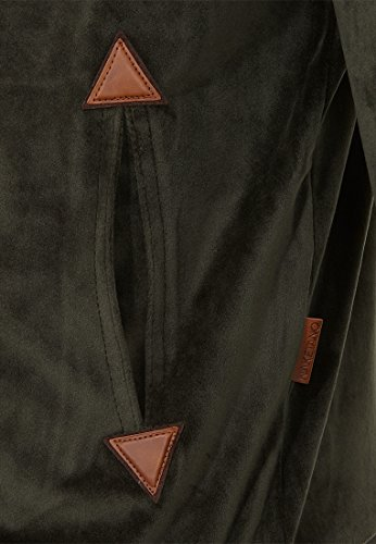 Naketano Male Zipped Jacket Ivic Mack IV Dark Olive