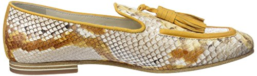 Lottusse Damen S9543 Slipper Braun (Snake Honey)