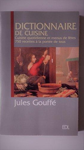 Dictionnaire de cuisine gouffe