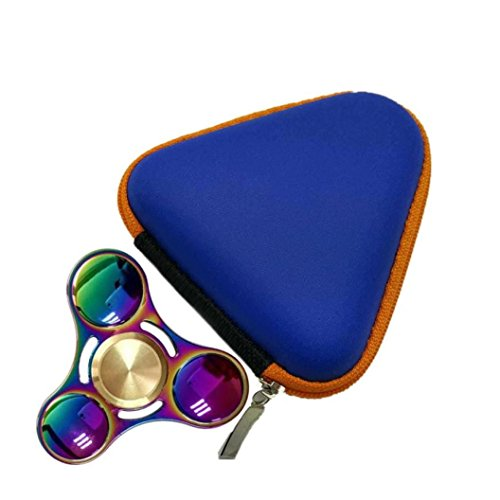 Fashion Finger Gyro Iron Box For Fidget Hand Spinner