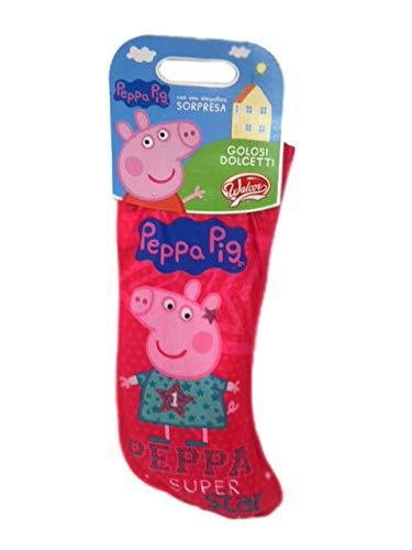 Walcor calza della befana peppa pig con dolcetti e sorpresa