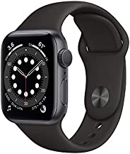 Apple Watch Series 6 (GPS) 40mm Space Gray Aluminum Case with Black Sport Band - Space Gray
