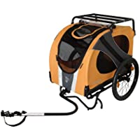 DoggyRide, Novel10 (Leine, PET Matte, Dach Rack mit), Luxus Bike, Carier, Trailer für Tier/Hund.