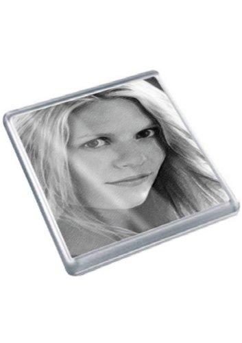 SIENNA MILLER - Original Art Coaster #js001