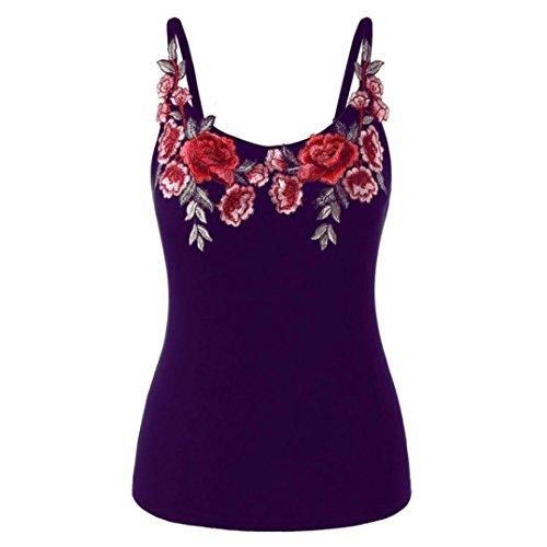 BHYDRY Damen Mode Frauen Casual T-Shirt Damen Ärmellos Weste Hemd Lose Tank Tops Plus Größe Freizeit Oberteile Tees (Baumwoll-seersucker-jacke)