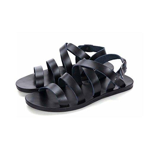 ZXCV Scarpe all'aperto I pattini della spiaggia degli uomini di personalità calzano i sandali casuali dei giovani i pattini di marea Nero