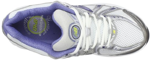 New Balance R840 Damen Rund Stoff Laufschuh Blue/White/Gray