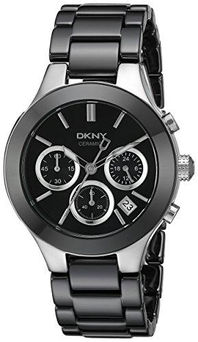 DKNY Damen-Armbanduhr Chronograph Quarz Keramik NY4914