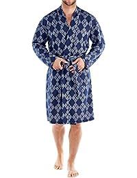 Harvey James Terry coton diamant Robe Robes de chambre-M L XL XXL masculine