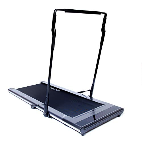 41rrwkgGweL. SS500  - Mini Tread Folding Office Treadmill with Smart Speed Control and Wrist Remote : Worlds Thinnest Treadmill, Smart Slim Motorised Walking/Jogging Machine for Home and Office