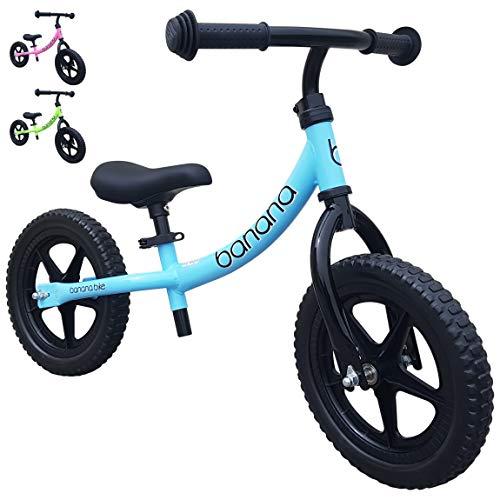 Banana LT - Leichtgewichtiges Laufrad Lauflernrad Kinderrad für Jungen und Mädchen Kinder 2, 3, 4 und 5 Jahre (Blau)