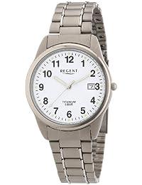 Regent Herren-Armbanduhr XL Analog Titan 11090248