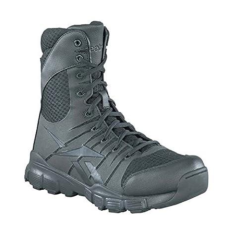 Reebok Men's Dauntless 8-Inch Seamless Side Zip Boots - Black, Size 10 UK (44 EU)