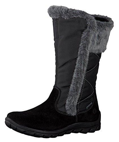 Ricosta HALEY Kinder Stiefel 68 8028600/096, 40, schwarz, schwarz