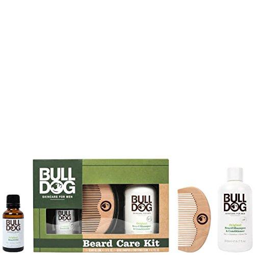 BullDog Skincare peine aceite kit cuidado barba