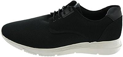 Cortefiel - Zapatillas de tela para hombre negro negro