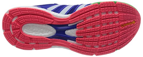 adidas - Adizero Boston 5 Woman, Sneaker Donna Blu/Verde