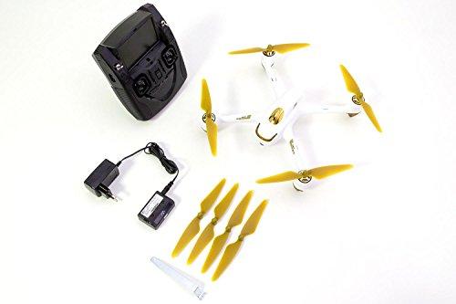 hubsan 15030050 x4 fpv brushless quadrocopter wei rtf. Black Bedroom Furniture Sets. Home Design Ideas