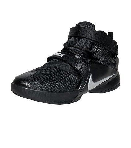 timeless design f0b18 38955 Nike 776471-001 Youth Lebron Soldier 9 Boys Basketball Shoes Black  Metallic- Price in India