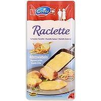 Emmi - Raclette Käse Scheiben Röstzwiebeln Schweizer Schnittkäse - 150g