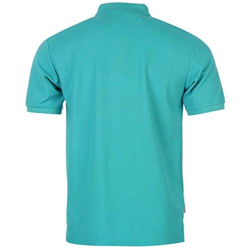 Slazenger Polo Polohemd T-Shirt Türkis