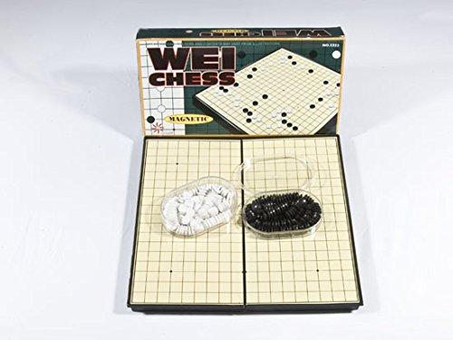 Go-Spiel: Magnetset, chinesisch, klein, 19x19-Brett, 30x30cm