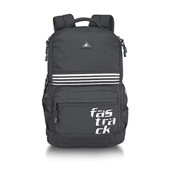 Fastrack 24 Ltrs Black Casual Backpack (A0739NBK01)