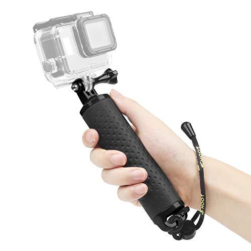 SHOOT Schwimmender Handgriff Wasserdicht Handgriff Floating Hand Grip für GoPro Hero 8/7/6/5/4 DJI Osmo Action AKASO EK7000 Apeman und die Meisten Sport Kamera