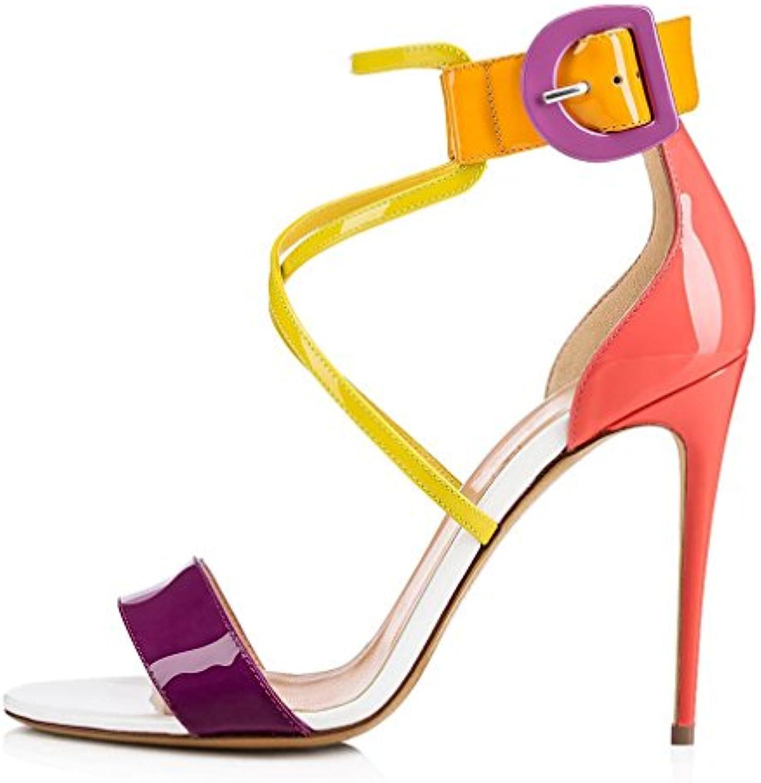 LUCKY CLOVER-A Le Donne Signore Tacco Alto Dolce Ragazze Sposa Partito Piattaforma Sandali PU Sandali Scarpe Di... | Alla Moda  | Uomo/Donna Scarpa