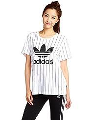 Adidas T-Shirt pour femme, logo en forme de trèfle
