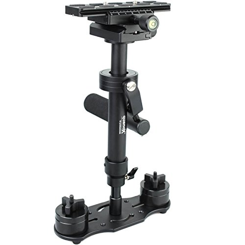 Quenox KF-S40 Schwebestativ - handgeführtes Stabilisierungssystem für Videokameras, DSLRs und DSLMs bis 1 kg