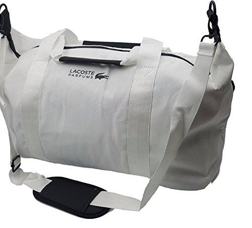 Lacoste Weiße Take Sporttasche Für Männer und Frauen Tasche