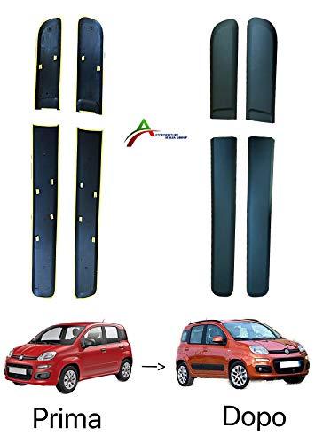 CICMOD Salvaportiera Paracolpi Anti-Graffiature 16FT//5M Striscia Profilo Gomma per Portiera Auto Sportello Protezione