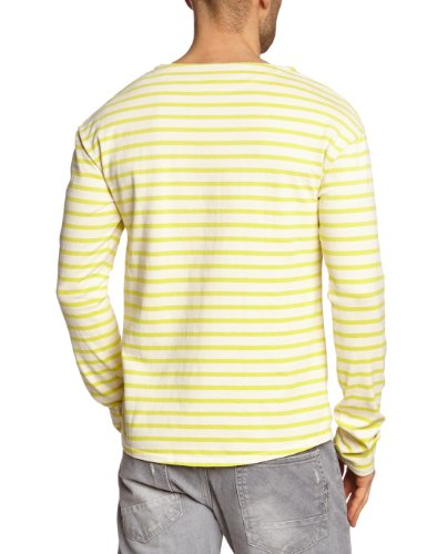Scotch & Soda Herren Langarmshirt 13010250010 - L/s summer tee in stripes Mehrfarbig (B - dessin B)