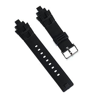 Calypso Reloj de Pulsera Brazalete Deportivo de Material Caucho Negro para Calypso k5595Relojes