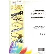Partitions classique ROBERT MARTIN DEL GIUDICE M. - DANSE DE L'ELEPHANT, UT OU SIB Tuba
