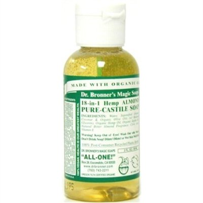 Dr. Bronners Almond 2oz (12 Pieces) Castile Soap by Dr. Bronner's -