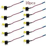Meipire Safty Pin Car Fuse Box prendere la linea di strisce elettriche, lunghezza della linea 110mm, fusibile 19.0 * 19.5mm Fuse punta distanza 4mm (10 PZ)