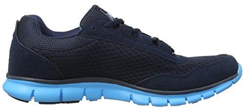Lonsdale  Southwick M,  Herren Sneaker Low-Tops Blue (Navy/Blue)
