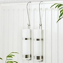 Conjunto de humidificadores bremermann® para radiador con anillo de goma, cristal