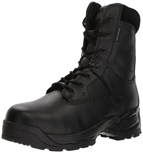 ATAC Shield 8 Inches Side Zip Boot,Black,7 W US (Womens Military Stiefel)