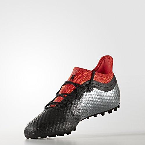 adidas Herren X Tango 16.1 Tf für Fußballtrainingsschuhe Schwarz (Negbas/negbas/rojo)