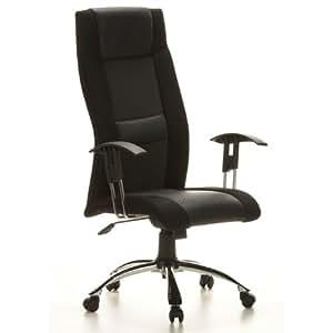 designer chefsessel b rostuhl drehstuhl kopenhagen schwarz aus echt leder netzstoff neu. Black Bedroom Furniture Sets. Home Design Ideas