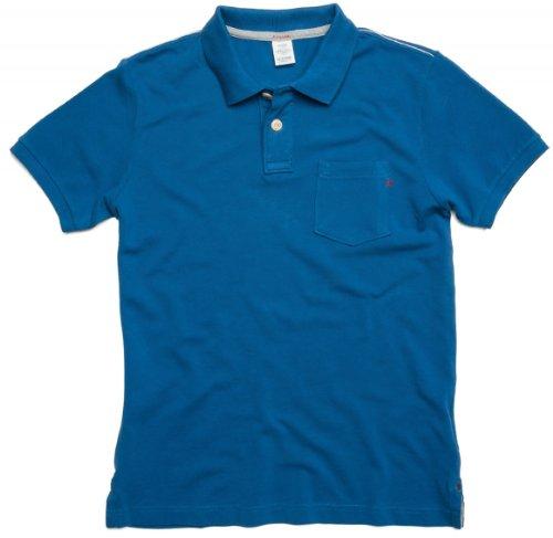 Replay-Polo da uomo, M6321S 998/, colore: nero sbiadito blu XL