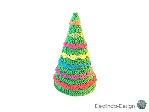 Tannenbaum gehäkelt Girlanden Weihnachten Deko Christmas Dekobaum